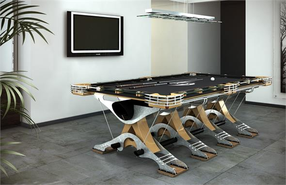 Hurricane Predator Luxury Pool Tables